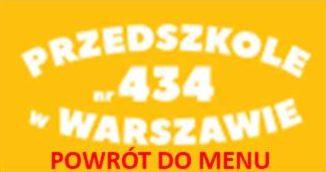Przedszkole nr 434 w Warszawie logo